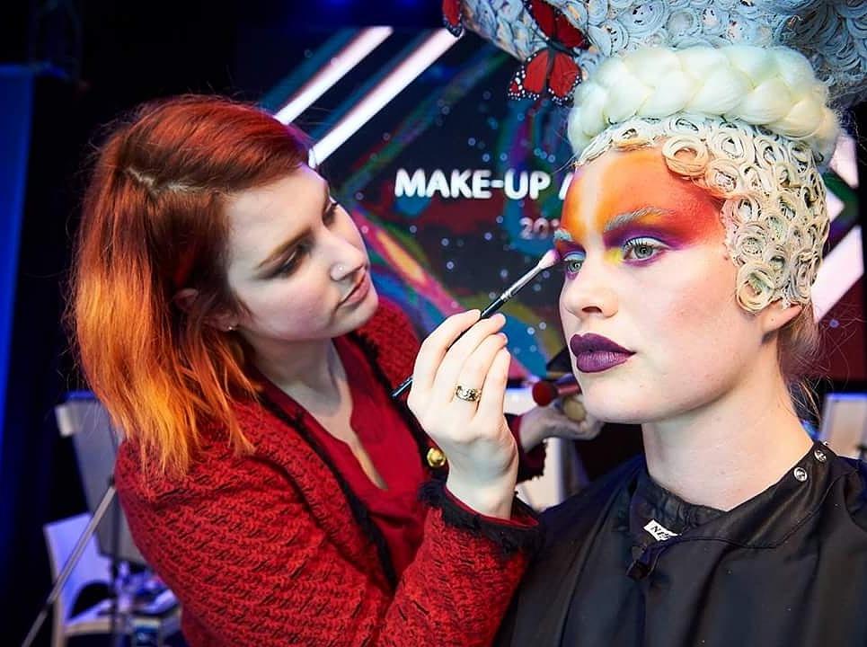 make-up artist marjolein